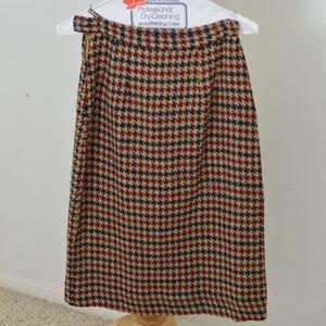 Cute long chevron skirt